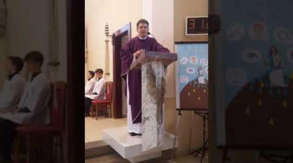 Záznam z online přenosu mše svaté z našeho kostela z 15.3.2020